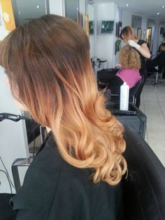 A slightly stronger Ombre style