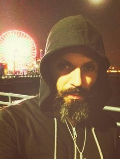 Beautiful  Bearded Justin Furstenfeld,Singer of BLUE OCTOBER I love my daughters , my wife , my friends ,my life and each day my heart gets bigger.    October  2014Blue October/Justin Furstenfeld,Sayde Belle and Daddy Justin Furstenfeld. his wife named Sarah (Lead singer for Blue October band