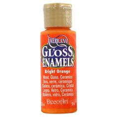 Bright Orange Americana Gloss Enamels