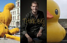 THINK BIG / Florentijn Hofman  His work is Fantastic !  His next project is in Mexico City October 2012