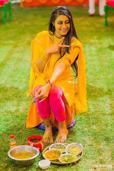 #happybride #indianwedding #haldidesign