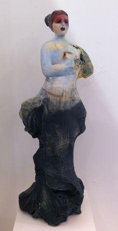Michelle Gregor. Traveller 2012. Clay .