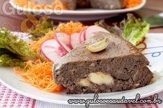 Para o #jantar temos esta delicia! Quem curte berinjela compartilha com seus amigos este Pudim de Berinjela Simples!  #Receita aqui: http://www.gulosoesaudavel.com.br/2014/02/17/pudim-berinjela-simples/