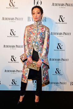 Ruth Negga Wins the Game of Louis Vuitton at the Harper's Bazaar Women of the Year Awards | Tom + Lorenzo