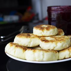 Cottage cheese pancakes are pillow-soft and surprisingly light. Sirniki are easily digested and full of macro nutrients.