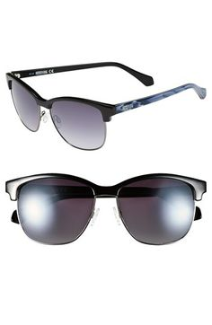 Kenneth Cole Reaction 'Clubmaster' 57mm Sunglasses available at #Nordstrom