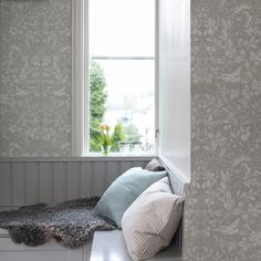 Welcome to Sandberg Wallpaper. We are a Swedish design company specialising in designer wallpaper and home accessories. Visit our site to browse the full collection of Sandberg wallpapers and find your nearest stockist. Swedish Design, Scandinavian Design, Hallway Inspiration, Built In Bed, Home Wallpaper, Modern Country, Wall Treatments, Decoration, Home Projects