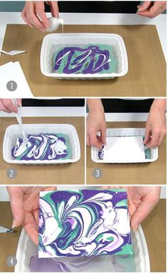 Best DIY Projects: Tis nail polish marbling technique is a fun way to create papers to use for paper crafting! Best DIY Projects: Tis nail polish marbling technique is a fun way to create papers to use for paper crafting! Kids Crafts, Crafts To Do, Arts And Crafts, Quick Crafts, 5 Minute Crafts, Cool Diy Projects, Projects To Try, Nail Polish Crafts, Nail Art
