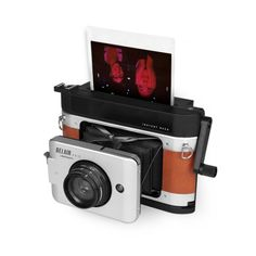 Ladies and Gentlemen, we are proud to introduce you to the most advanced instant photography system ever, the Belair X 6-12 Instant Back! Specially designed for use with the Belair X 6-12 camera, with the Belair Instant Back you can utilize the Belair's fantastic features in an instant! http://shop.lomography.com/us/cameras/belair-cameras/belair-bundles/belair-jetsetter-instant-kit