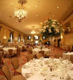 Fairmont Olympic Hotel - Venue - In the Spanish Ballroom, 400 guests can dine in splendor beneath regal chandeliers, surrounded by Palladian windows, ornate Italian Renaissance accents and the richness of its original 1920s oak walls.