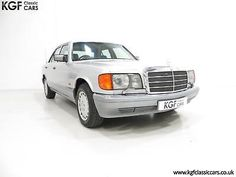 eBay: An Opulent Mercedes-Benz W126 300SE with Just 64,801 Miles and Full History #classiccars #cars