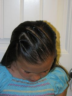 Tutorials of little girls hair do's