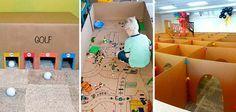 27 Ideias que utilizam caixas de papelão para criar atividades e brincadeiras para as crianças | Tudo Interessante | Curiosidades, Imagens e Vídeos interessantes