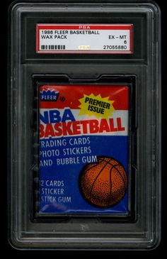 c2d565553b8 Details about (1) 1986-1987 Fleer Basketball Wax Pack From Fresh Box  Barkley Jordan Rookie RC