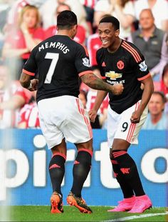 Memphis and Anthony Martial