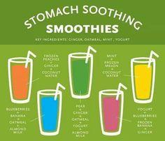 Smoothies for Tummy Upset