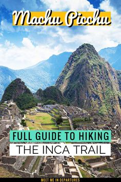 Hiking the Inca Trail with G Adventures | G Adventures offer the BEST Inca Trail tour | Trekking to Machu Picchu | Peru Bucket List | Bucket List Destinations | Peru Itinerary | Inca Trail Hike Packing Lists | Inca Trail Hike Tips | Hike the Inca Trail | Inca Trail Peru | G Adventure Inca Trail | Machu Picchu Peru | Machu Picchu Peru Hike | South America Hike #Peru #IncaTrail #MachuPicchu #SouthAmerica #BucketListTravel South America Destinations, Top Travel Destinations, South America Travel, Bolivia, Travel Route, Peru Travel, Travel Abroad, Ecuador, Patagonia