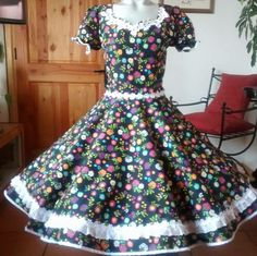 Short Sleeve Dresses, Dresses With Sleeves, Indian Designer Wear, Vintage Outfits, Summer Dresses, How To Wear, Clothes, Fashion, Folklorico Dresses