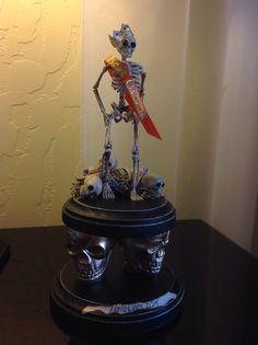 """My 2014 Halloween Skeleton Trophies """"Best Overall"""""""