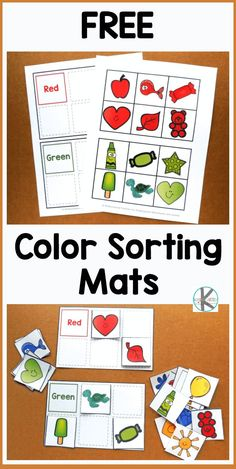 Community Helpers Preschool Discover FREE Color Sorting Mats - kids will have fun practicing identifying major colors with these free printable reusable sorting activity. Perfect for toddler preschool kindergarten and first grade kids. Color Activities For Toddlers, Printable Activities For Kids, Preschool Learning Activities, Preschool Printables, Preschool Worksheets, Kids Learning, Toddler Preschool, Color Sorting For Toddlers, Colors For Toddlers