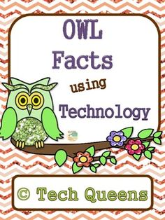 Super fun for computer centers, smart boards, chrome books, etc. Great for early finishers, gifted, independent work. Owls using Technology K-3 $