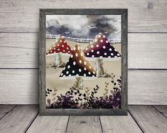 Animal Crossing, Etsy, Frame, Animals, Home Decor, Digital Prints, Impressionism, Home Decoration, Handmade Gifts