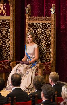 ♥•✿•QueenMaxima•✿•♥...Prinsjesdag - Prince's Day - Celebration In The Hague, Netherlands on September 15, 2015