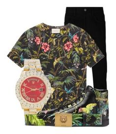 """""""Men '16"""" by beautifully-ambitious ❤ liked on Polyvore featuring Gucci, Rolex, men's fashion and menswear"""