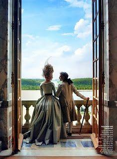 Marie Antoinette (Vogue, 2006)  Kirsten Dunst as Marie Antoinette  Photography: Annie Liebovitz  Venue: Château de Versailles