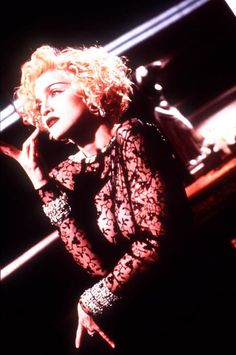 """Through the Years: Madonna's Iconic """"Vogue"""" Turns 30 Madonna Vogue, Madonna Photos, Lady Madonna, Madonna 80s, Music Love, Dance Music, Michigan, Pop Charts, American Bandstand"""