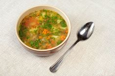 Prírodná zeleninová polievka