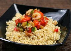 Quinoa con verduras y salsa de soja para #Mycook http://www.mycook.es/cocina/receta/quinoa-con-verduras-y-salsa-de-soja