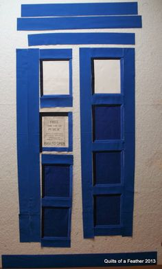 This is an update to my last post on designing a TARDIS quilt,  and shows the progress I've made with the quilt itself. I've been editing ...