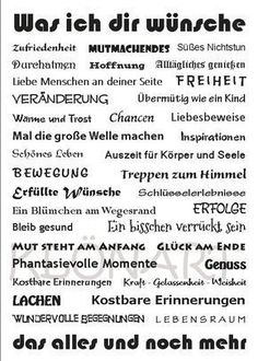 WZ – KPK – 021 – Was ich dir wünsche NEU - Elektronische Komponenten & Supplies Good To Know, Feel Good, Birthday Wishes, Happy Birthday, Words Quotes, Sayings, German Language Learning, Happy B Day, Good Thoughts