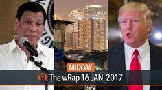 Duterte & Kim, World's richest, Trump   Midday wRap - WATCH VIDEO HERE -> http://dutertenewstoday.com/duterte-kim-worlds-richest-trump-midday-wrap/   Today on Rappler: – Duterte meets U.S. ambassador in Davao City – Oxfam: Half of world's wealth owned by 8 men – Trump praises Brexit, says NATO is obsolete Full video:  Follow Rappler on Social Media: Facebook – Twitter – Instagram – YouTube...
