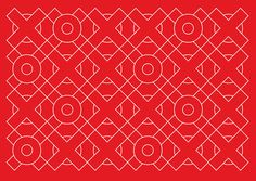 Port of Amsterdam Logo / identity — pattern from logo or part of logo
