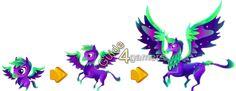 Fantasy Forest Story Aurora Pegasus Growth