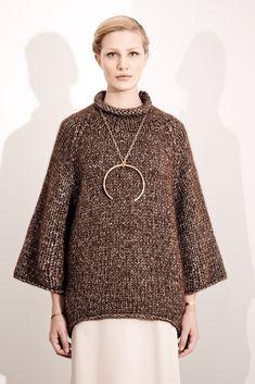 #knit inspiration Victor Alfaro Fall 2014 Ready-to-Wear