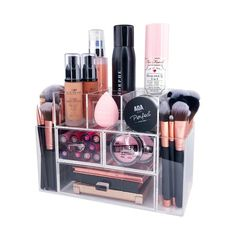 Reign Vanity Top Organizer Great For All Of Your Makeup ; reign vanity top organizer ideal für alle ihre make-up Reign Vanity Top Organizer Great For All Of Your Makeup ; Diy Makeup Organizer, Makeup Storage, Makeup Organization, Makeup Collection Storage, Acrylic Organizer, Storage Organization, Makeup Guide, Makeup Kit, Makeup Brushes
