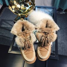 74.99$  Buy here - http://ali8fi.worldwells.pw/go.php?t=32769914708 - Korean Style Genuine Leather Women Snow Boots Real Rabbit Fur Tassel Female Platform Ankle Boots Winter Shoes Woman 74.99$