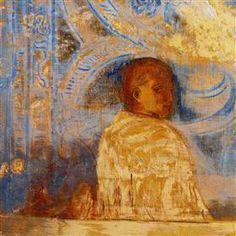 The Glance - Odilon Redon