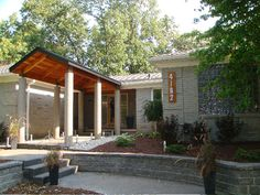 Here is the daytime photo of the new porch near Lahser & Long Lake Rd in Bloomfield Twp.