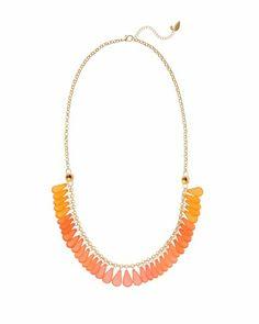 Tropic drops long necklace