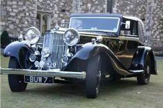 1934 Siddeley Special Vanden Plas Sedanca Coupe