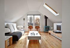 Galley Avenue Residence - modern - living room - toronto - TACT Design