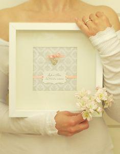 Hochzeitsgeschenk: Schutzengel aus Silber im Rahmen von amberemotion