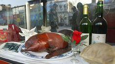 Da Dong Roast Duck Restaurant. Apparently the best Peking Duck ever. Recommended by Fuchsia Dunlop.
