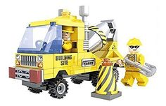 Ausini Construction City Cement Truck with Action Figures Building Bricks 115pc Educational Blocks Set Compatible to Lego Parts - Great Gift for Children * This is an Amazon Affiliate link. You can find out more details at the link of the image.