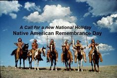 """Abolish Columbus Day & make it """"Native American Remembrance Day"""" to honor Native Peoples."""