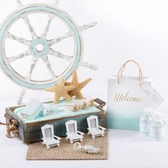 Make your beach wedding unforgettable with chic wedding favors & decor!